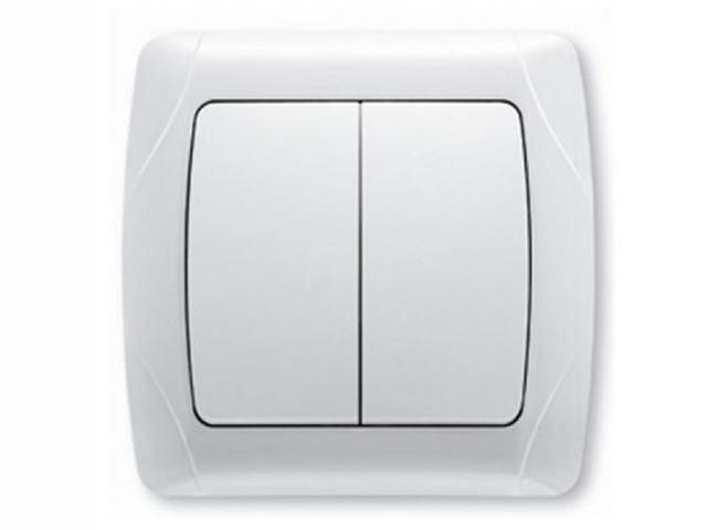 Συνδέστε τον διπλό διακόπτη φωτισμού